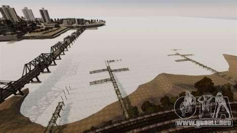 Agua congelada para GTA 4 sexto de pantalla