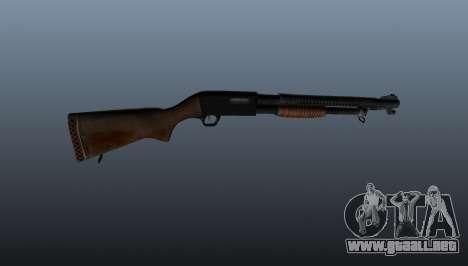 M1897 Escopeta Trenchgun para GTA 4 tercera pantalla