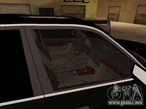 BMW 520i e34 para GTA San Andreas vista hacia atrás