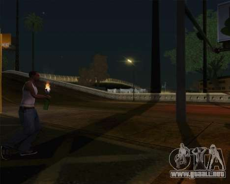 Champagne para GTA San Andreas quinta pantalla