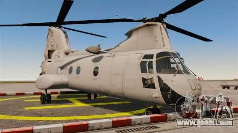 Boeing CH-46D Sea Knight para GTA 4