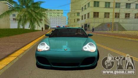 Porsche 911 Turbo para GTA Vice City left