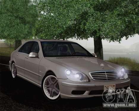 Mercedes-Benz AMG S65 2004 para GTA San Andreas