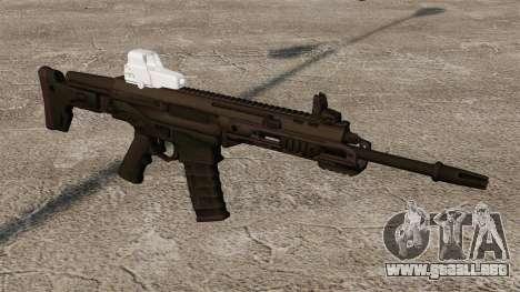 Remington automático ACR Eotech para GTA 4