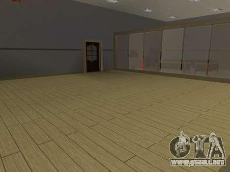 Nuevas texturas Interior Ayuntamiento para GTA San Andreas segunda pantalla