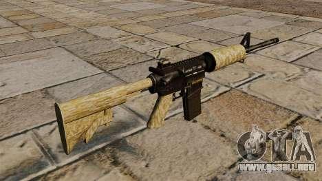 Automático carabina M4A1 desierto para GTA 4 segundos de pantalla