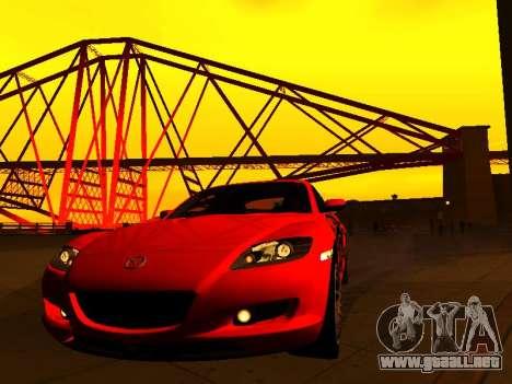 ENBSeries with View Distance para GTA San Andreas quinta pantalla