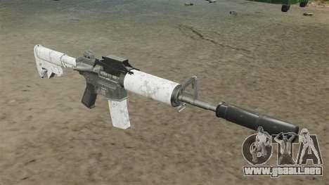 Automático carabina M4 actualizado para GTA 4