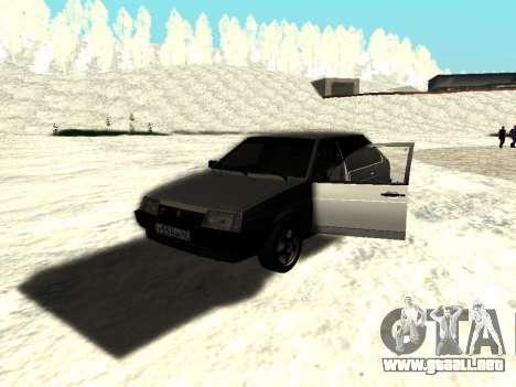 VAZ 21093i para GTA San Andreas left
