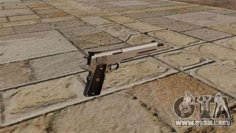 AMT Hardballer Longslide pistola para GTA 4 segundos de pantalla