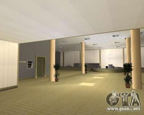 Nuevas texturas Interior Ayuntamiento para GTA San Andreas