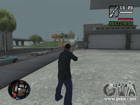 Nueva campana e iconos en el mapa para GTA San Andreas sexta pantalla