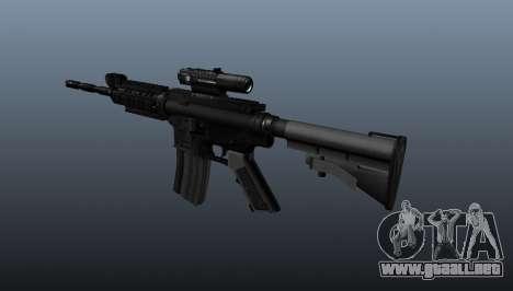 Carabina M4 de Spike para GTA 4 segundos de pantalla