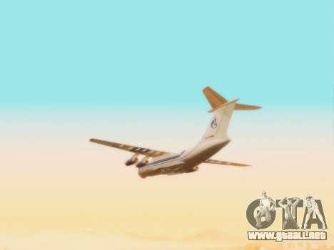 Il-76td Gazpromavia para visión interna GTA San Andreas