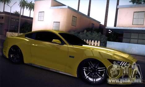 Ford Mustang 2015 Swag para la visión correcta GTA San Andreas