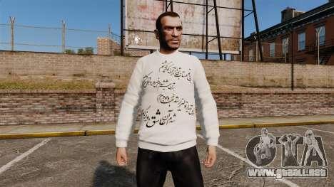 Suéter iraní para GTA 4