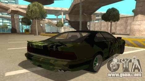 BMW 850CSi 1996 Military Version para la visión correcta GTA San Andreas