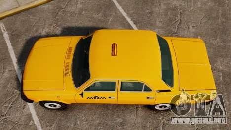 Gaz-31029 taxi para GTA 4 visión correcta