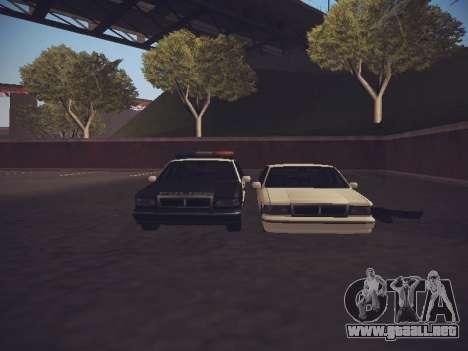 GTA SA Low Style v1 para GTA San Andreas segunda pantalla