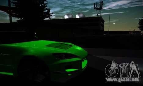 Honda S2000 Amuse GT1 para visión interna GTA San Andreas