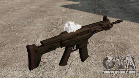 Remington automático ACR Eotech para GTA 4 segundos de pantalla