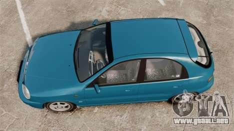 Daewoo Lanos PL 2001 para GTA 4 visión correcta