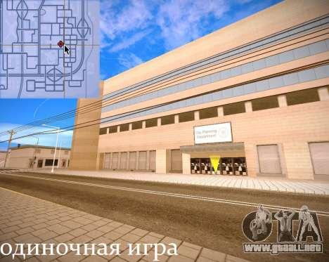 Nuevas texturas Interior Ayuntamiento para GTA San Andreas undécima de pantalla