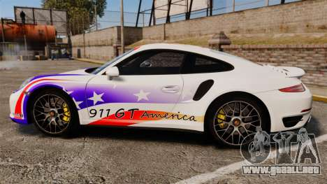 Porsche 911 Turbo 2014 [EPM] America para GTA 4 left