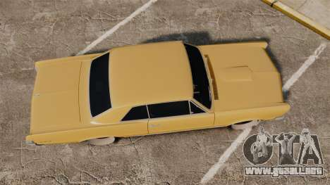 Pontiac GTO 1965 para GTA 4 visión correcta