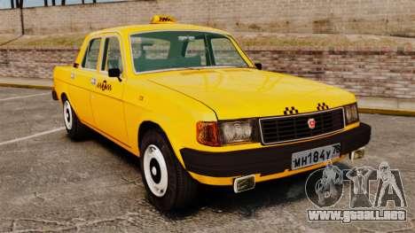 Gaz-31029 taxi para GTA 4
