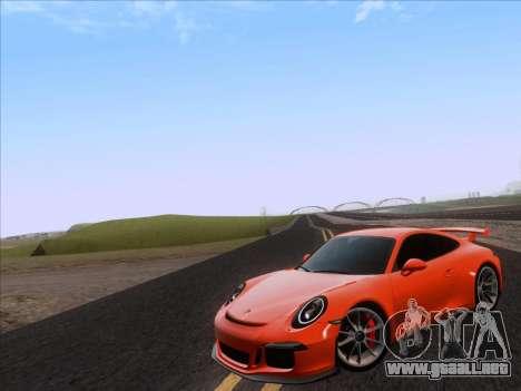 Porsche 911 GT3 2014 para GTA San Andreas left
