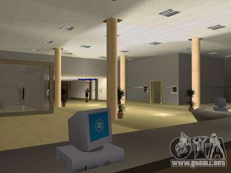 Nuevas texturas Interior Ayuntamiento para GTA San Andreas décimo de pantalla