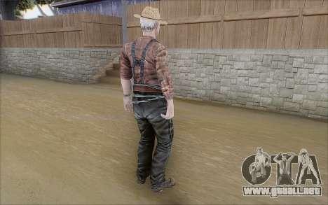 Granjero para GTA San Andreas tercera pantalla