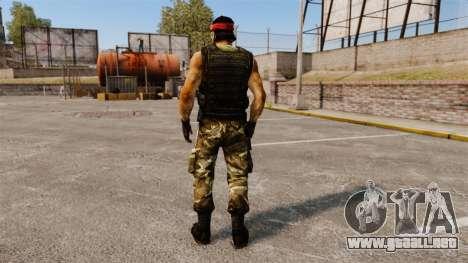 Terrorista guerrillera de América del sur para GTA 4 tercera pantalla