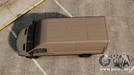 Mercedes-Benz Sprinter 2500 2011 v1.4 para GTA 4 visión correcta