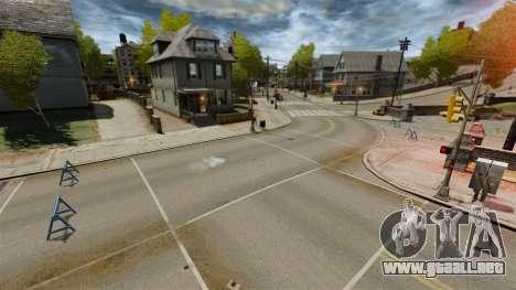 Pista de Supermoto para GTA 4 segundos de pantalla