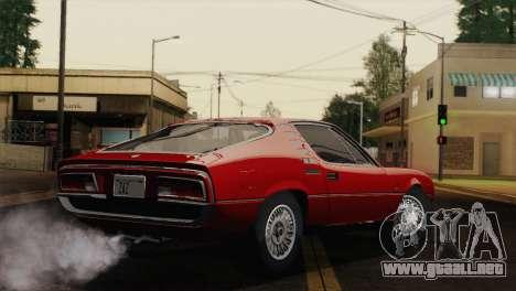 Alfa Romeo Montreal (105) 1970 para GTA San Andreas left