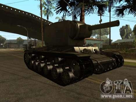 KV-2 para GTA San Andreas left