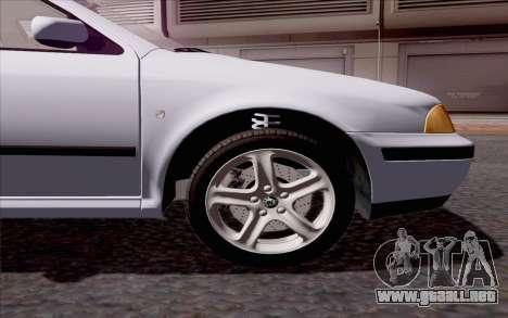 Skoda Octavia para visión interna GTA San Andreas