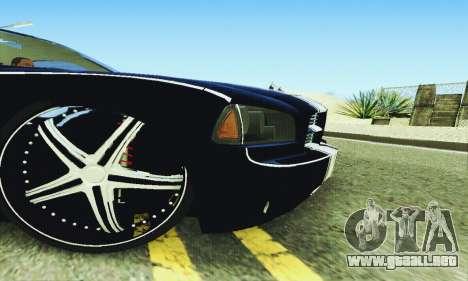Dodge Charger DUB para la vista superior GTA San Andreas