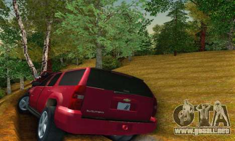 Chevrolet Suburban 2008 para la visión correcta GTA San Andreas