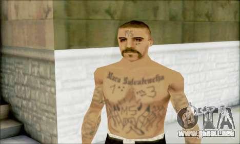 La Mara Salvatrucha Latino 1 para GTA San Andreas tercera pantalla