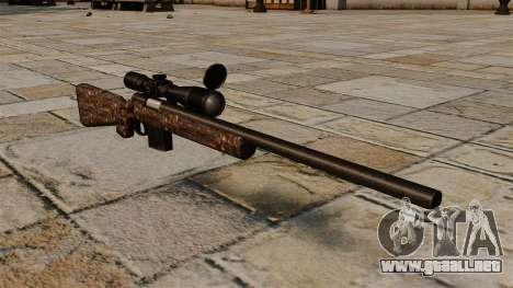 Rifle de francotirador M40 sucio para GTA 4