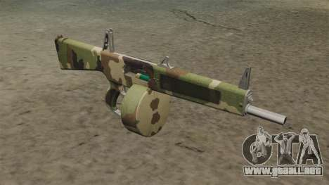 La escopeta AA-12 Camo v2 para GTA 4
