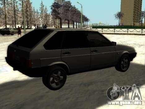 VAZ 21093i para la visión correcta GTA San Andreas