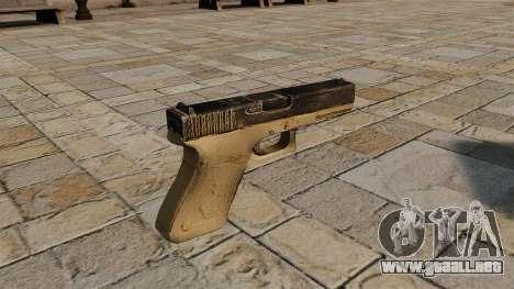 Glock pistola autocargable para GTA 4 segundos de pantalla