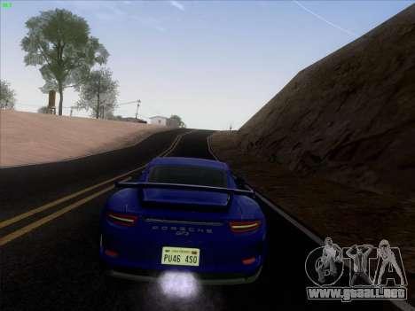 Porsche 911 GT3 2014 para visión interna GTA San Andreas
