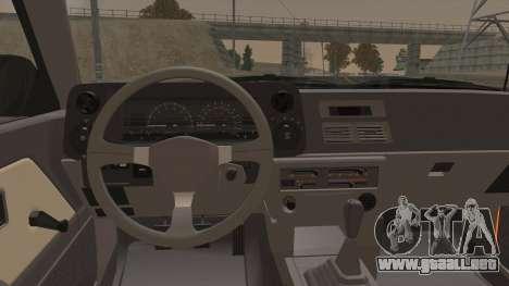 Toyota Corolla GT-S AE86 1985 para visión interna GTA San Andreas