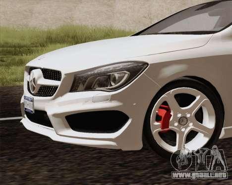 Mercedes-Benz CLA 250 2013 para la visión correcta GTA San Andreas
