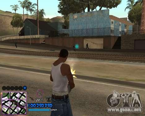 C-HUD by Dony Scofield para GTA San Andreas tercera pantalla